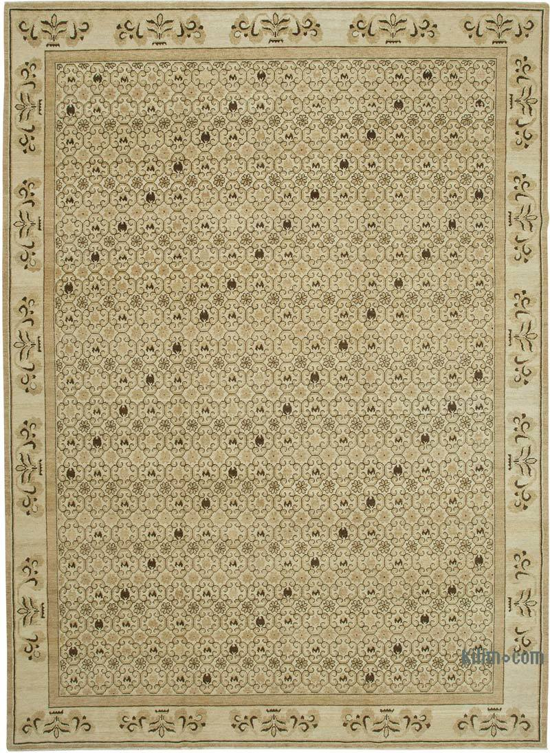 Yeni El Dokuma Uşak Halısı - 304 cm x 423 cm - K0040626