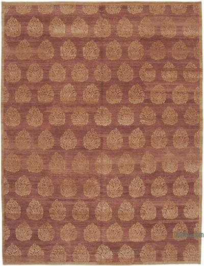 "New Hand Knotted All Wool Oushak Rug - 9'  x 12' 1"" (108 in. x 145 in.)"