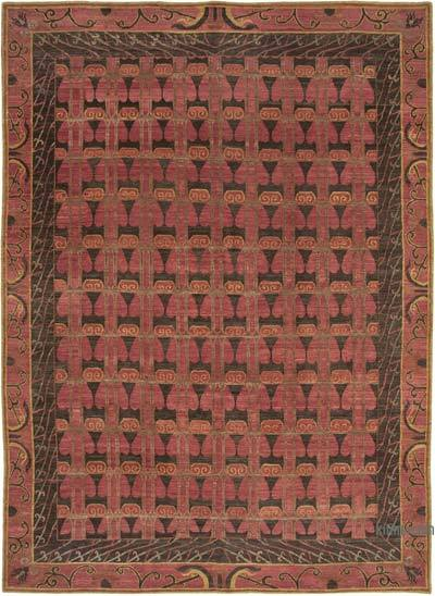 "New Hand Knotted All Wool Oushak Rug - 10'  x 13' 11"" (120 in. x 167 in.)"