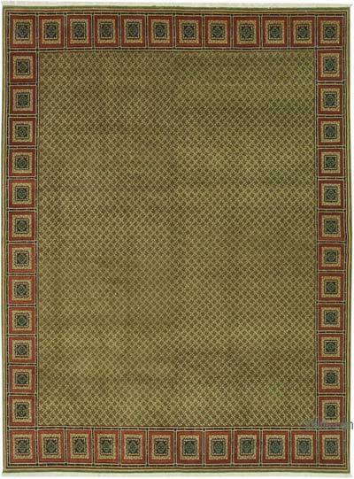 """New Hand Knotted All Wool Oushak Rug - 7'7"""" x 10'4"""" (91 in. x 124 in.)"""