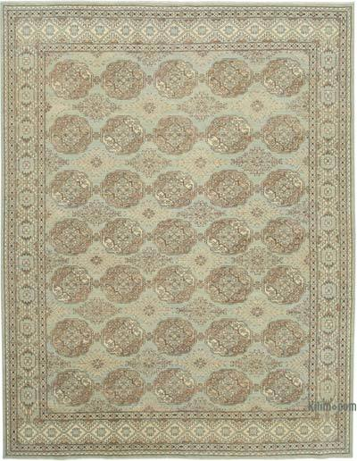 "New Hand Knotted All Wool Oushak Rug - 9' 4"" x 12' 2"" (112 in. x 146 in.)"