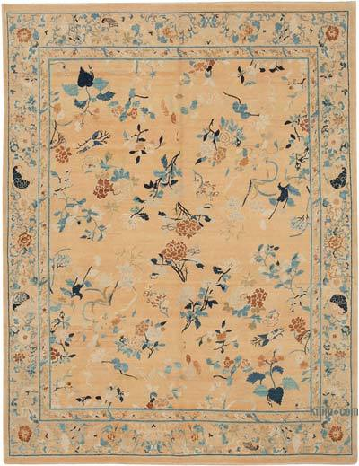 """New Hand Knotted All Wool Oushak Rug - 8' x 10'6"""" (96 in. x 126 in.)"""