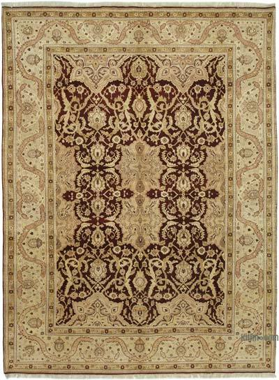 """New Hand Knotted All Wool Oushak Rug - 9' 2"""" x 12' 2"""" (110 in. x 146 in.)"""