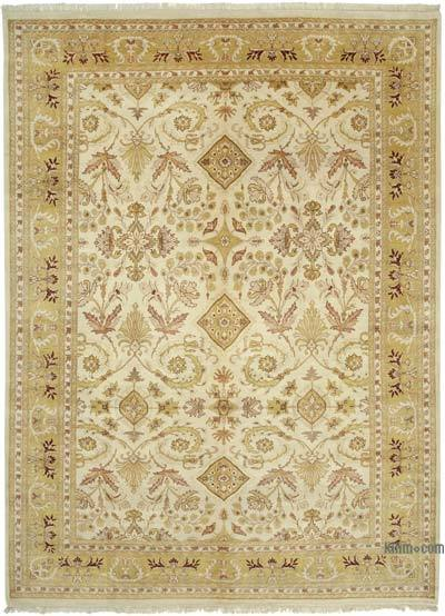 """New Hand Knotted All Wool Oushak Rug - 10'  x 13' 7"""" (120 in. x 163 in.)"""