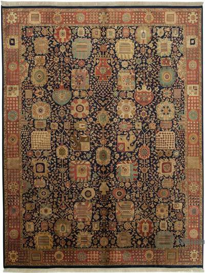 """New Hand Knotted All Wool Oushak Rug - 9' 1"""" x 11' 11"""" (109 in. x 143 in.)"""