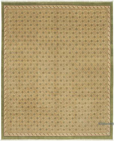 """New Hand Knotted All Wool Oushak Rug - 8' x 9'11"""" (96 in. x 119 in.)"""