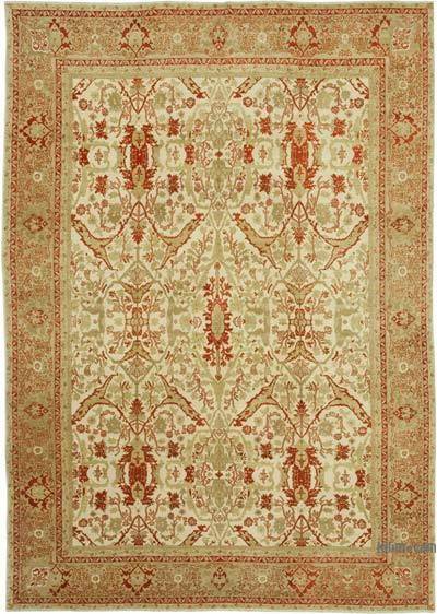 "New Hand Knotted All Wool Oushak Rug - 8' 8"" x 12' 6"" (104 in. x 150 in.)"