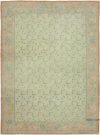 """New Hand Knotted All Wool Oushak Rug - 10' 3"""" x 13' 6"""" (123 in. x 162 in.)"""