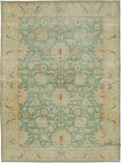 "New Hand Knotted All Wool Oushak Rug - 8'10"" x 12' (106 in. x 144 in.)"