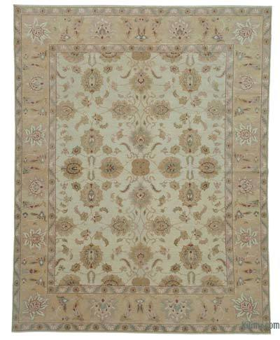 "New Hand Knotted All Wool Oushak Rug - 8' 10"" x 11' 4"" (106 in. x 136 in.)"