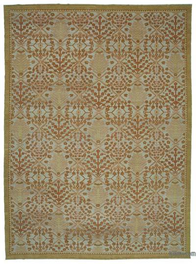 """New Hand Knotted All Wool Oushak Rug - 10' 3"""" x 14' 1"""" (123 in. x 169 in.)"""