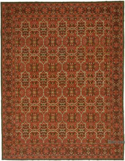 "New Hand Knotted All Wool Oushak Rug - 9' 1"" x 11' 10"" (109 in. x 142 in.)"