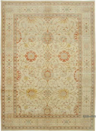 "New Hand Knotted All Wool Oushak Rug - 8' 9"" x 11' 9"" (105 in. x 141 in.)"