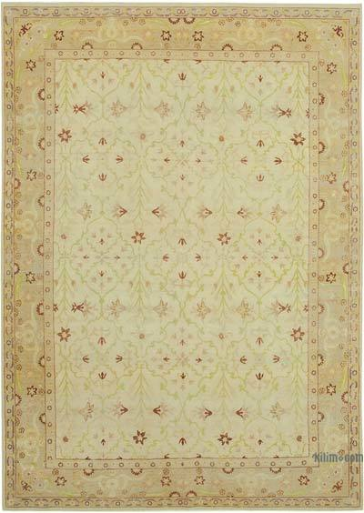 "New Hand Knotted All Wool Oushak Rug - 7'8"" x 10'10"" (92 in. x 130 in.)"