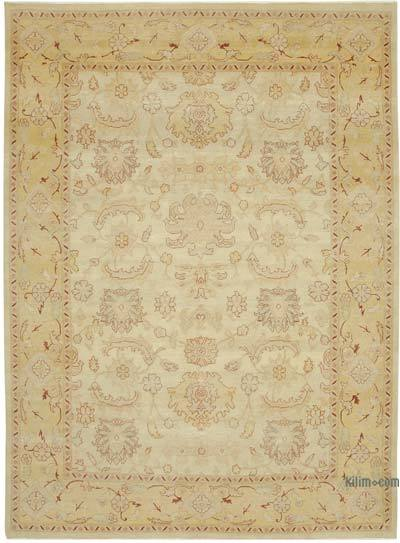 "New Hand Knotted All Wool Oushak Rug - 8' 8"" x 11' 10"" (104 in. x 142 in.)"