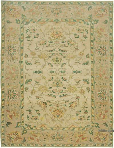 "New Hand Knotted All Wool Oushak Rug - 9' 11"" x 13' 1"" (119 in. x 157 in.)"