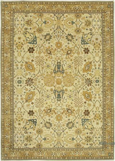 "New Hand Knotted All Wool Oushak Rug - 9' 10"" x 14' 1"" (118 in. x 169 in.)"