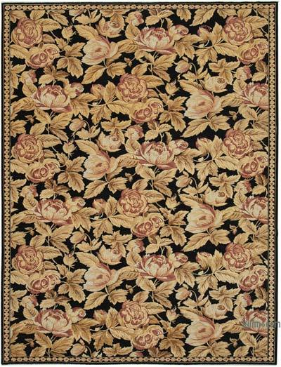 "New Hand Knotted All Wool Oushak Rug - 8' 8"" x 11' 5"" (104 in. x 137 in.)"
