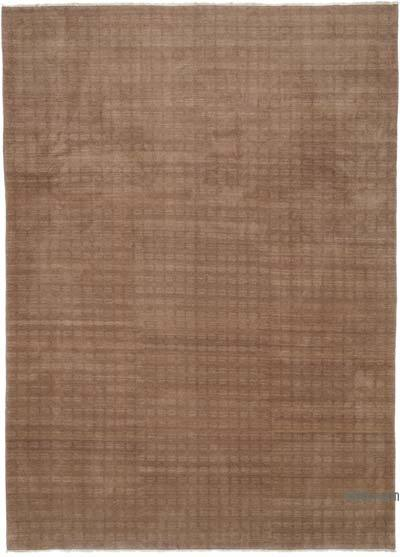 "New Hand Knotted All Wool Oushak Rug - 10'  x 13' 10"" (120 in. x 166 in.)"