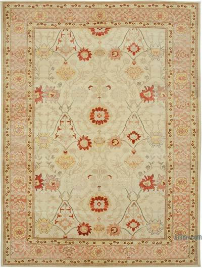 """New Hand Knotted All Wool Oushak Rug - 8'10"""" x 11'10"""" (106 in. x 142 in.)"""