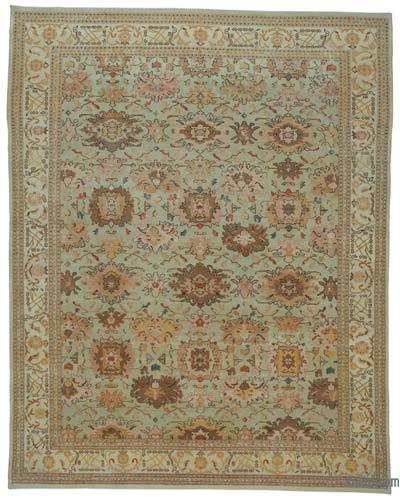 "New Hand Knotted All Wool Oushak Rug - 10' 3"" x 13'  (123 in. x 156 in.)"