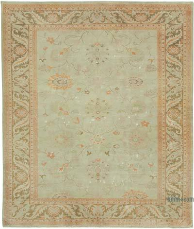 "New Hand Knotted All Wool Oushak Rug - 8'5"" x 9'10"" (101 in. x 118 in.)"