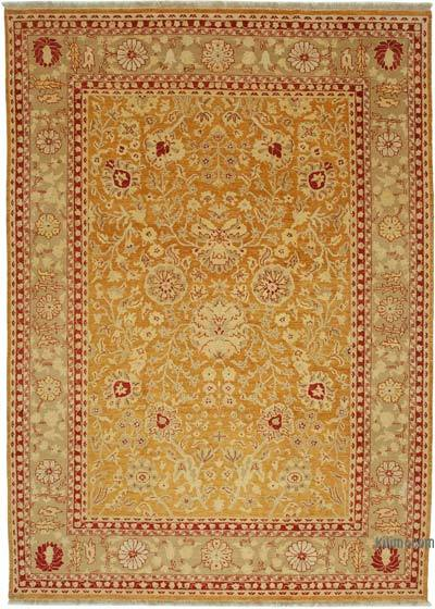 "New Hand Knotted All Wool Oushak Rug - 10'  x 14' 1"" (120 in. x 169 in.)"