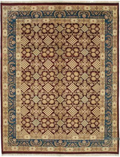 """New Hand Knotted Wool Oushak Rug - 9' 2"""" x 12'  (110 in. x 144 in.)"""