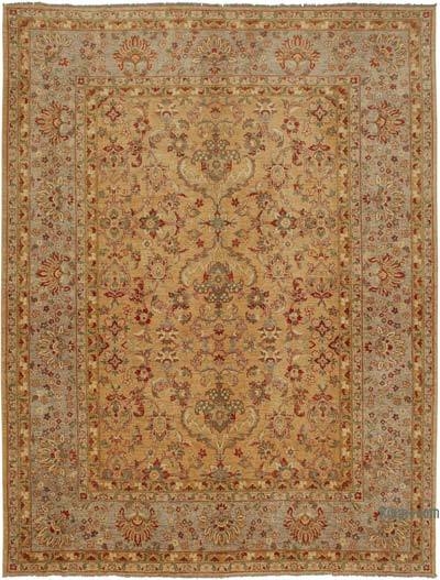 "New Hand Knotted All Wool Oushak Rug - 10' 2"" x 13' 3"" (122 in. x 159 in.)"