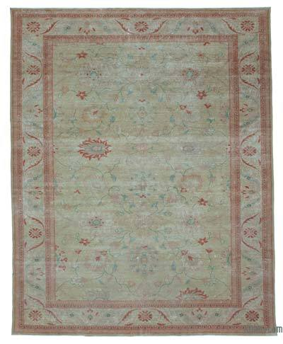 "New Hand Knotted All Wool Oushak Rug - 9'5"" x 11'8"" (113 in. x 140 in.)"