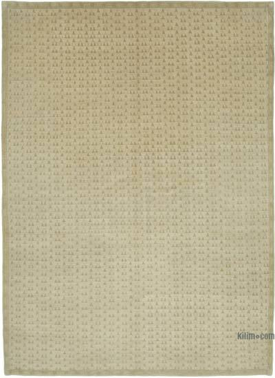 "New Hand Knotted All Wool Oushak Rug - 9' 6"" x 13' 3"" (114 in. x 159 in.)"