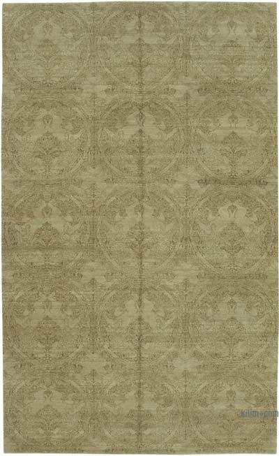 "New Hand Knotted All Wool Oushak Rug - 8'  x 13' 3"" (96 in. x 159 in.)"