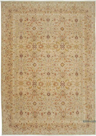 "New Hand Knotted All Wool Oushak Rug - 9' 11"" x 13' 9"" (119 in. x 165 in.)"