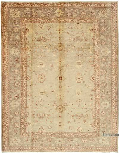 """New Hand Knotted All Wool Oushak Rug - 9'  x 11' 9"""" (108 in. x 141 in.)"""