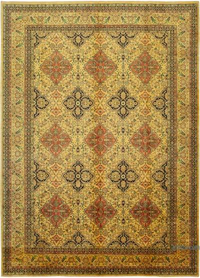 "New Hand Knotted All Wool Oushak Rug - 9' 8"" x 13' 7"" (116 in. x 163 in.)"
