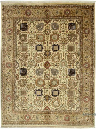 """New Hand Knotted All Wool Oushak Rug - 9' 1"""" x 12'  (109 in. x 144 in.)"""