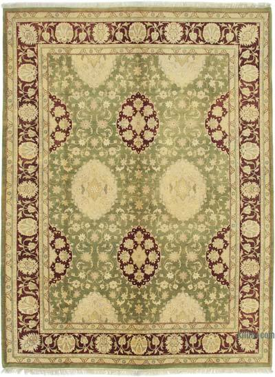 """New Hand Knotted All Wool Oushak Rug - 9'1"""" x 12'3"""" (109 in. x 147 in.)"""