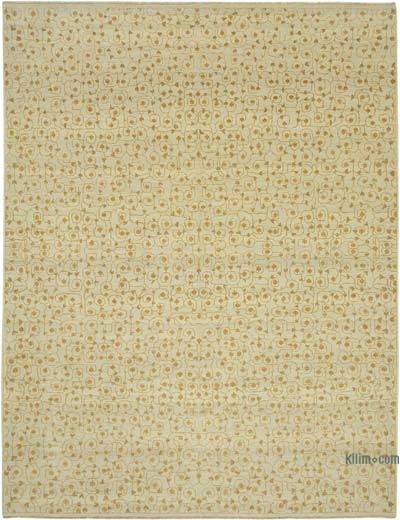 """New Hand Knotted All Wool Oushak Rug - 10' 1"""" x 13' 1"""" (121 in. x 157 in.)"""