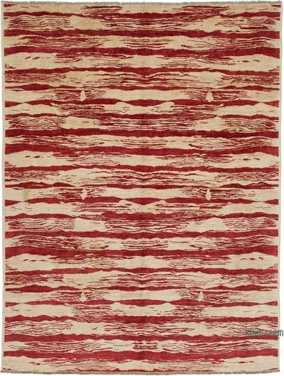 """New Hand Knotted All Wool Oushak Rug - 5'8"""" x 7'8"""" (68 in. x 92 in.)"""