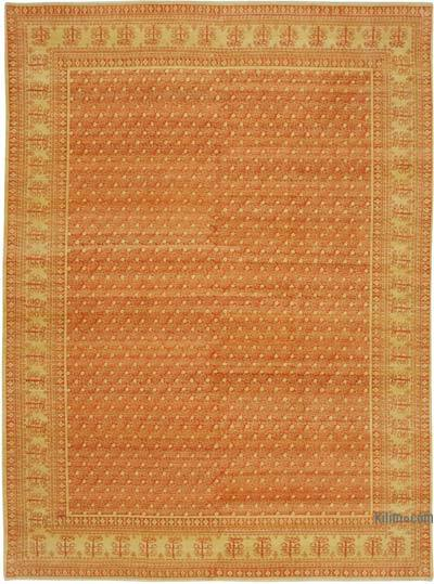 "New Hand Knotted All Wool Oushak Rug - 8' 10"" x 11' 11"" (106 in. x 143 in.)"