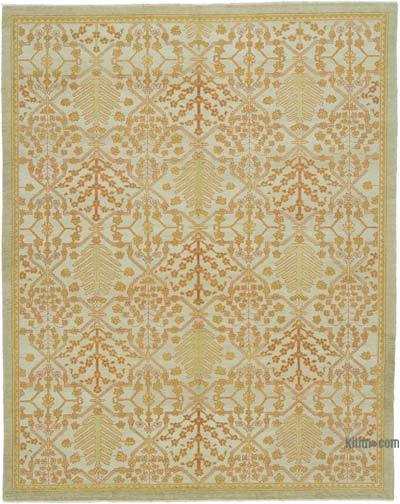 "New Hand Knotted All Wool Oushak Rug - 8'  x 10' 1"" (96 in. x 121 in.)"