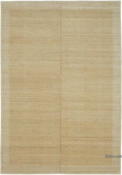 "New Hand Knotted All Wool Oushak Rug - 7'1"" x 10'1"" (85 in. x 121 in.)"
