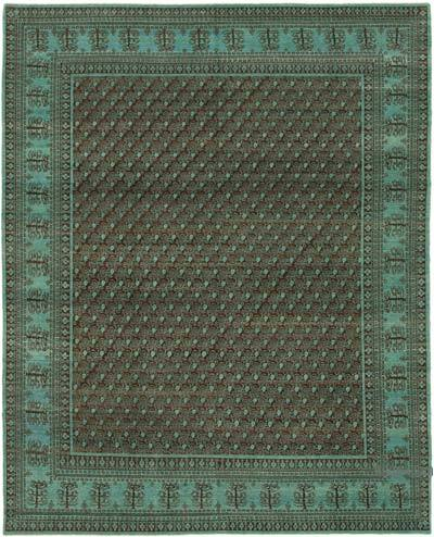 "New Hand Knotted All Wool Oushak Rug - 7'10"" x 9'10"" (94 in. x 118 in.)"