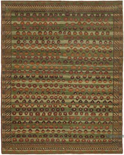 "New Hand Knotted All Wool Oushak Rug - 8' x 10'1"" (96 in. x 121 in.)"