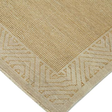 """New Hand Knotted Wool Oushak Rug - 7' 1"""" x 9' 11"""" (85 in. x 119 in.) - K0040811"""
