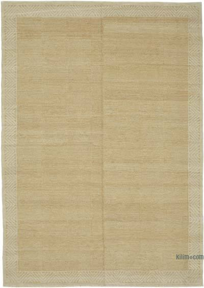 """New Hand Knotted All Wool Oushak Rug - 7' 1"""" x 9' 11"""" (85 in. x 119 in.)"""