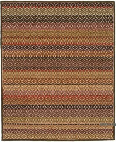 """New Hand Knotted All Wool Oushak Rug - 8'  x 9' 11"""" (96 in. x 119 in.)"""