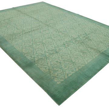 """New Hand Knotted Wool Oushak Rug - 8' 6"""" x 11' 10"""" (102 in. x 142 in.) - K0040823"""