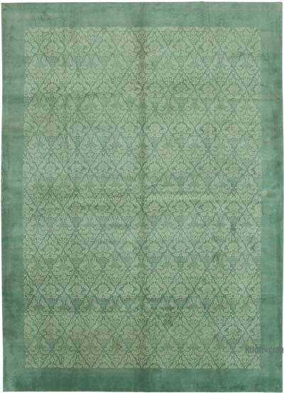 "New Hand Knotted All Wool Oushak Rug - 8' 6"" x 11' 10"" (102 in. x 142 in.)"
