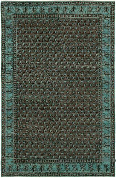 """New Hand Knotted All Wool Oushak Rug - 5'11"""" x 8'11"""" (71 in. x 107 in.)"""